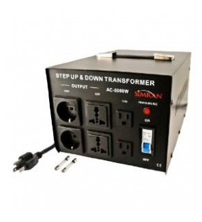 Simran AC-3000, 3000 Watts Step Up and Down Voltage Converter Transformer 110-220 Volts