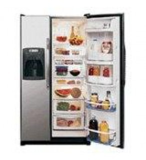 AMANA AS2626GEKS SIDE BY SIDE refrigerator 220 Volts