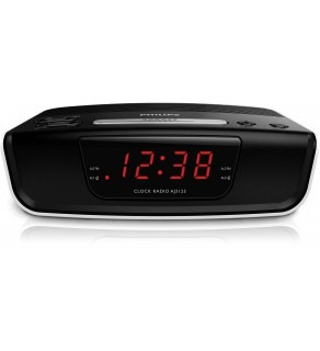 Philips AJ-3123 Digital Tuning FM Clock Radio 220 Volts
