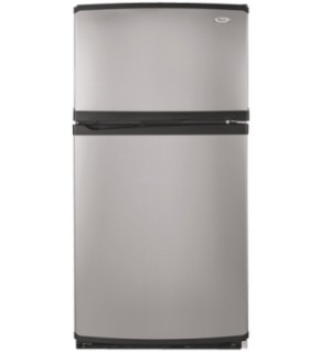 Whirlpool 23 cu.ft. 5GR2SHKXLS Stainless Steel Refrigerator 220 Volts
