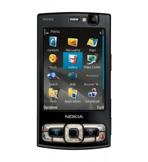 NOKIA N95 8GB BLACK QUADBAND UNLOCKED SIM FREE PHONE