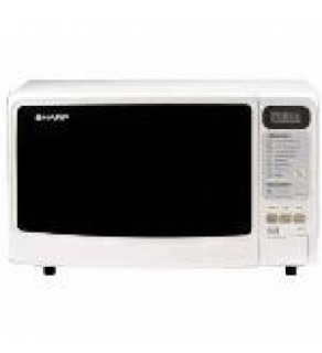 Sharp R-249 WHITE 800W Microwave Oven 220 Volts