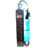 Wonpro 5-Outlet Universal Power Strip & Surge Protector, WES4-5D107 with UK- Iraq plug