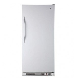 Ge 20 Cu. Ft. Fug20Dsr-Wh Upright Freezer 220 Volts