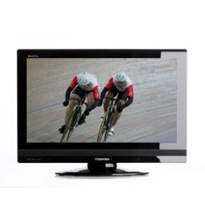 "TOSHIBA 26"" 26AV600 HD READY Multisystem LCD TV 110 220 Volts"