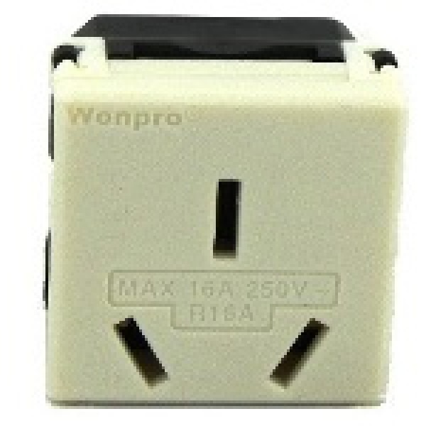 Type I Electrical Receptacle Outlet For Australia Amp New