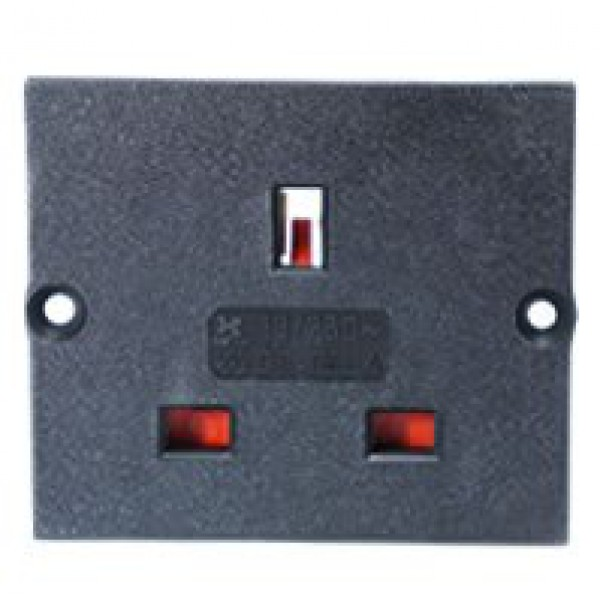 Type G Electrical Receptacle Outlet For Uk 13 Amp Panel