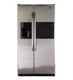 Ge 27 Cu.Ft Sid By Side Refrigerator/Freezer 220 Volts