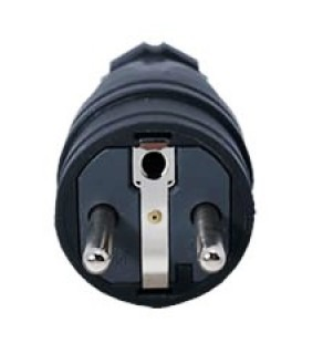 Terminate a Type E Electrical AC 16 Amps Male Power Plug Schuko CEE 7/5