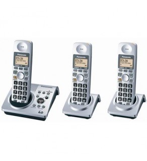 Panasonic KX TG1033S Cordless phone - Silver