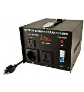 Simran AC-1500, 1500 Watts Step Up and Down Voltage Converter Transformer 110-220 Volts (Default)