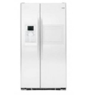 GE 30 Cu.ft. GSE30VHBTWW Side by Side White Refrigerator 220 Volts