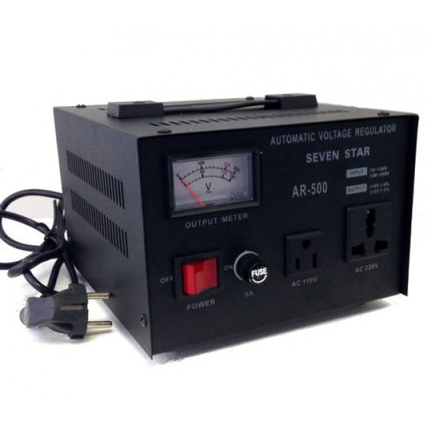 500 Watts Step Up And Down Voltage Converter Regulator