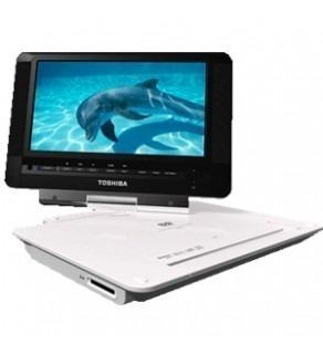 "Toshiba Sdp-92Ska 9"" Code Free Portable Dvd Player 110 220 Volts (Default)"