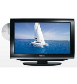 "TOSHIBA 22"" 22DV-703R HD READY LCD/DVD MULTISYSTEM REGION FREE COMBO UNIT FOR 110-220 VOLTS"