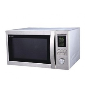 Sharp R-84A0 25-Liter Microwave Oven with Grill 220V/240V
