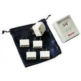 Recoton 1600-Watt International Travel Voltage Converter Kit