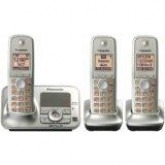 Panasonic KXTG4133N DECT 6.0 Cordless Phone with Answering System,