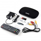 ATSC Digital Converter Box for Analog TV, Analog TV Converter Box with Coaxial HD Output with USB Backup Recording