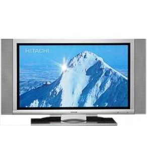 "HITACHI 42"" MULTI-SYSTEM PLASMA TV INCLUDES SPEAKERS FOR 110-220 VOLTS"