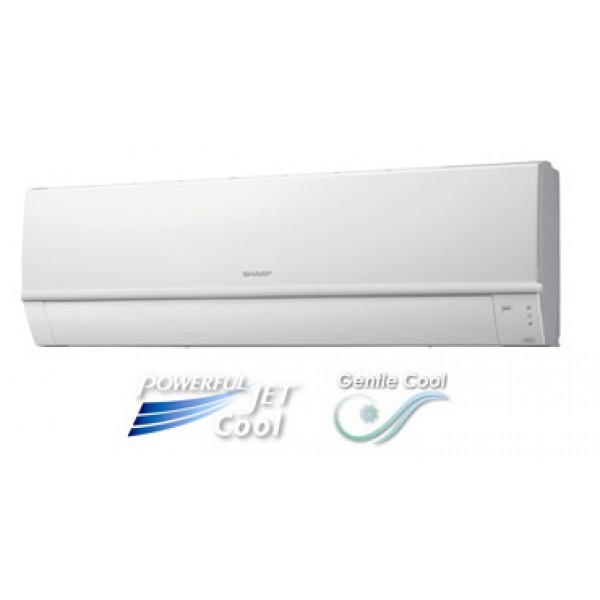sharp btu air conditioner with powerful jet u0026 gentle cool mode 220 volts