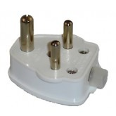 Terminate a Type D Electrical AC Male 5 Amps Power Plug for India