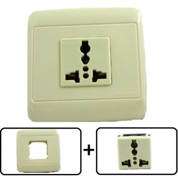 Type A Through L Universal Electrical Receptacle Outlet 20 AMPS With Cover Plate