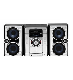 SONY MHC-RG270 CD/TAPE/TUNER MINI HI-FI SYSTEM FOR 110-240 VOLTS