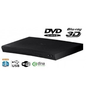 Samsung BD-J5900 Multi Region Code Free DVD 3D WiFi Blu-ray Disc Player