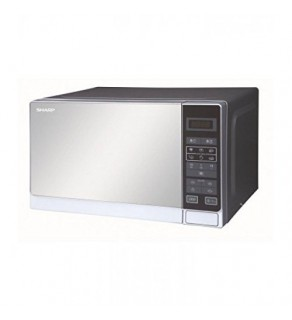 Sharp R20 Stainless Steel Touch Control Microwave Oven 220 Volts