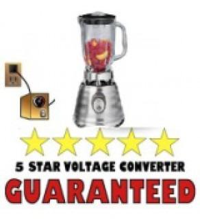 Blender Voltage Converter Transformer Kit For 110 or 220 VOLTS