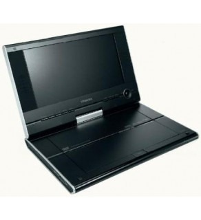 "Toshiba SD-P91 9"" Region Free Portable DVD Player 110 220 Volts"