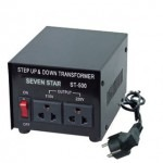 Seven Star ST-500, 500 Watts Step Up and Down Voltage Converter Transformer