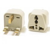 WonPro WA-7 Universal to UK Grounded Travel Power Plug Adapter