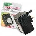 Seven Star 50 Watts Travel Voltage Converter for UK, SS-215 220-240 Volts to 110-120 volts