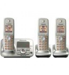 Panasonic KXTG4133N DECT 6.0 Cordless Phone with Answering System