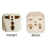 WonPro WA-9A Universal to European Rounded Power Plug Adapter