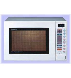 PANASONIC 0.8 CU.FT CONVECTION + GRILL FOR 220 VOLTS