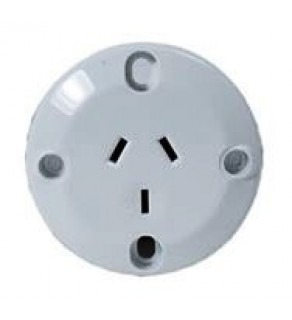 Type I Electrical Receptacle Outlet for Australia & New Zealand for panel mount