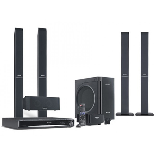 Panasonic SCPT865W Region Free 1080p DVD Home Theatre System with