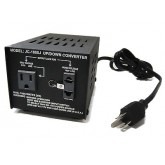 Seven Star JC-200, 200 watt Japan 100 volts step up & down converter transformers