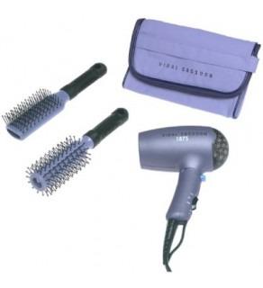 Vidal Sassoon VSC014 1875-Watt Travel Hair Dryer with Bonus