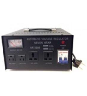 3000 Watts Step Up and Down Voltage Converter Regulator Transformer AR3000, 110-220 Volts (Default)