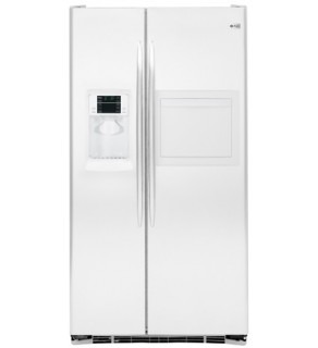GE 27CFT PSE27VHXT ARCTICA WHITE SIDE-BY-SIDE REFRIGERATOR FOR 220 VOLTS