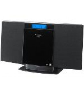 Panasonic SC-HC20 Mini system w/ dock for iPod/Iphone CD Playback 110 220 Volts