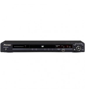 Pioneer DV-410V-K Region Code Free DVD Player