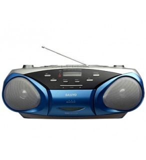 SANYO MCD-V199M CD RADIO CASSETTE PLAYER WITH MP3