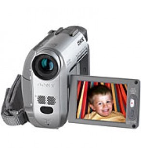 The Sony MiniDV Handycam? Camcorder packs big features in a small package.