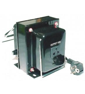 100 Watts Step Down Voltage Converter Transformer, THG-100 220-240 Volts to 110-120 volts