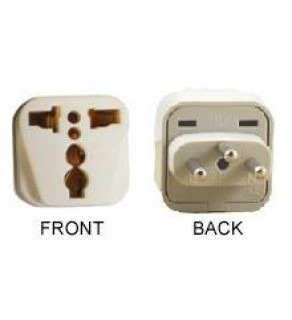 WonPro WA-11 Universal to Switzerland Grounded Power Plug Adapter